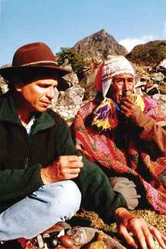 Alberto Villoldo and Shaman Elder